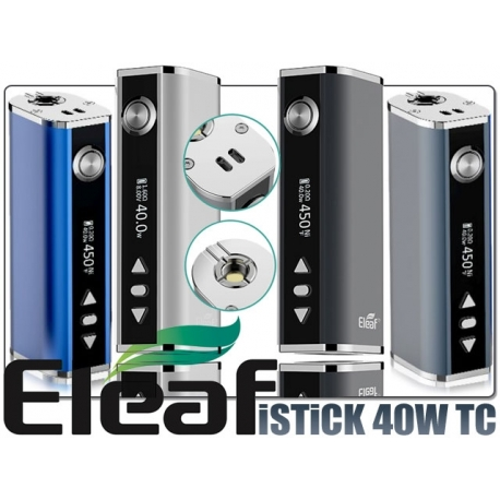 Kit Box istick Eleaf 40W temperature control